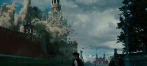 Kremlin Explosion Scene from Mission: Impossible - Ghost Protocol