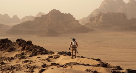 Shot from The Martian