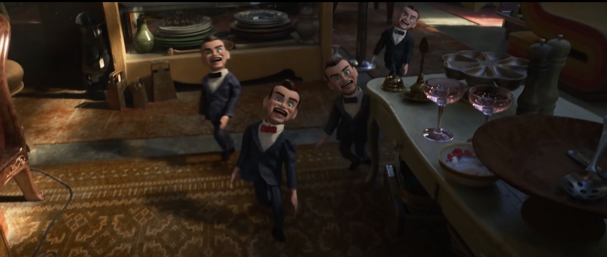 Image of the Benson dolls in Toy Story 4.