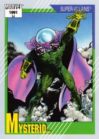 Mysterio Trading Card